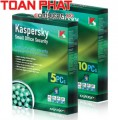 Phần mềm Kaspersky Small Offic Security 05 PC + 01 filesever - 01 năm
