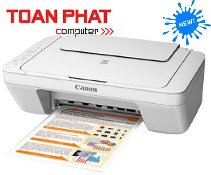 Máy in Phun mầu Đa chức năng Canon PIXMA MG 2570 (in A4, scan, copy)