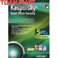 Phần mềm Kaspersky Small Office Security 10 PC + 01 fileserver - 01 năm