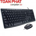 Keyboard Logitech + Mouse Optical MK200