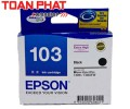 Mực in EPSON 103 Black Ink Cartridge (T1031)