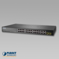 Switch Planet FGSW-2840 24-Port SNMP Manageable 10/100Base-TX + 4-Port 1000Base-T Gigabit + 2-Port MiniGBIC(SFP)
